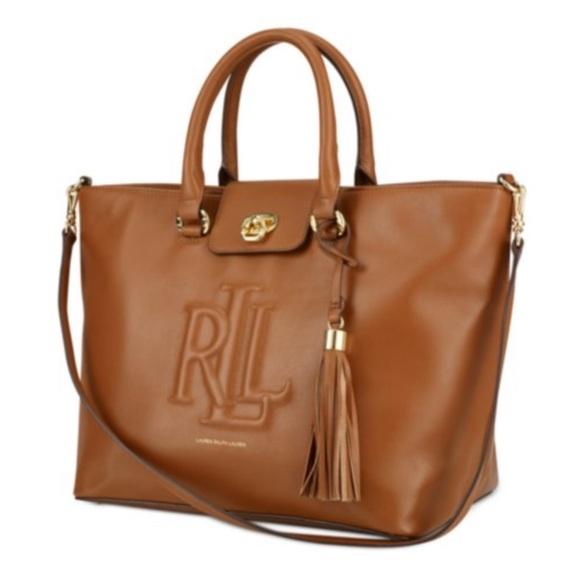 Ralph Lauren Bags   Victoria Convertible Tote   Poshmark 66ffd7f257